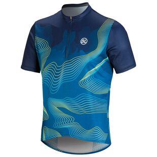 Mens Madeira MTB Jersey (Blue) 6ef550524