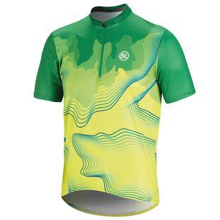 Mens Madeira MTB Jersey (Green Yellow) b5434c96b