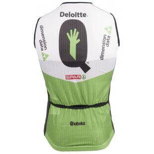 Dimension Data Mens 2018 Race Fit Gilet (Green White Black)  b88773280