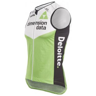 bd4701090 Mens 2018 Race Fit Gilet (Green White Black)