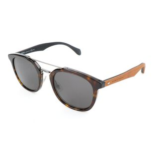 c4e0759cf711 Hugo Boss. Mens Acetate Sunglasses (Havana ...