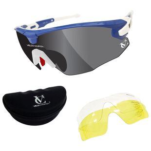 691c65676e53 Missile Sunglasses (Blue Flash - 3 Lenses)