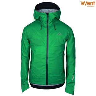 33a59cc6e70bc Mens Skjold Packable Waterproof Jacket (Green/Pine)