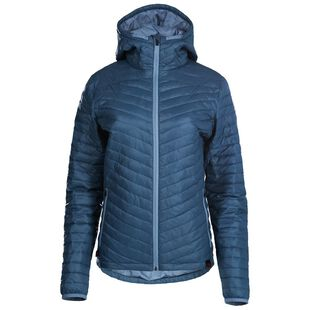 ISOBAA Womens Merino Wool Insulated Jacket (Petrol/Sky
