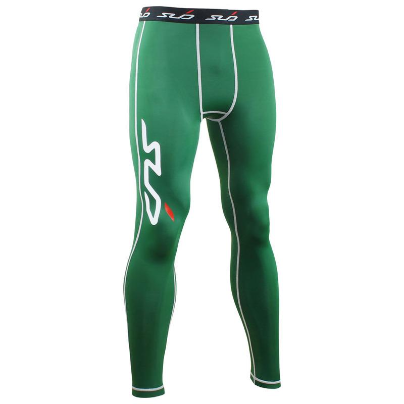 e9c259abec SubSports Mens DUAL Compression Tights (Green) | Sportpursuit.com