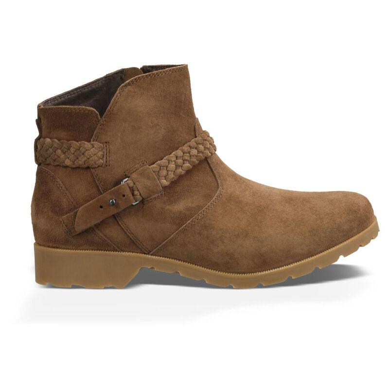 4c8935df4e9e46 Teva Womens De La Vina Ankle Suede Boots (Bison)