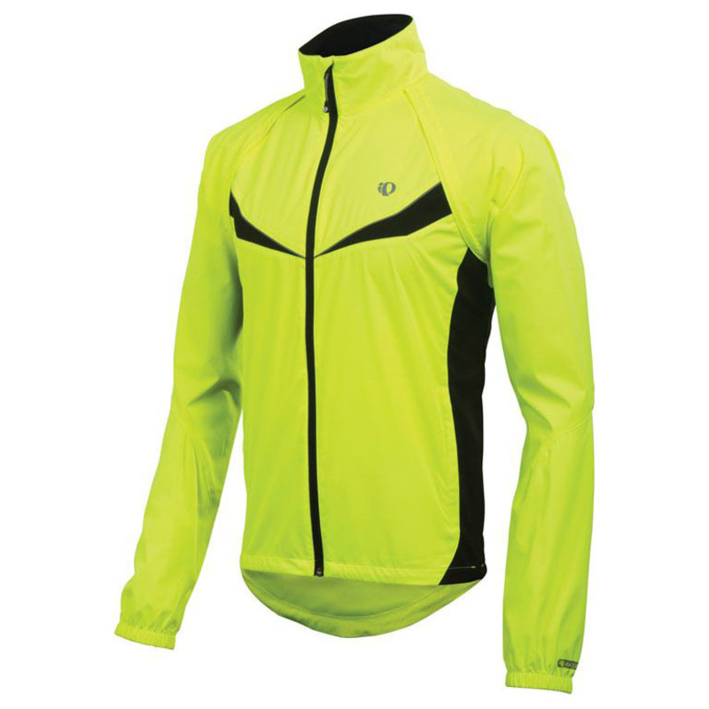 Pearl Izumi Mens Elite Barrier Convertible Jacket (Screaming Yellow Bl c9a65782b
