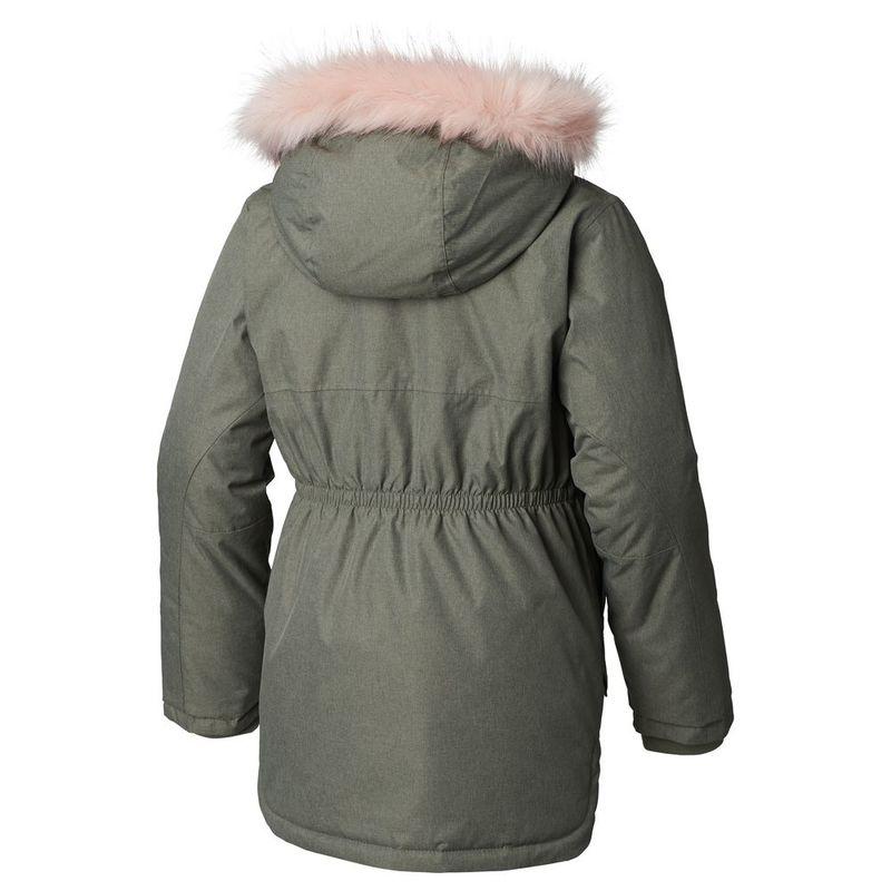 65dd35de226f Columbia Girls Carson Pass™ Mid Jacket (Cypress Heather Chalk)