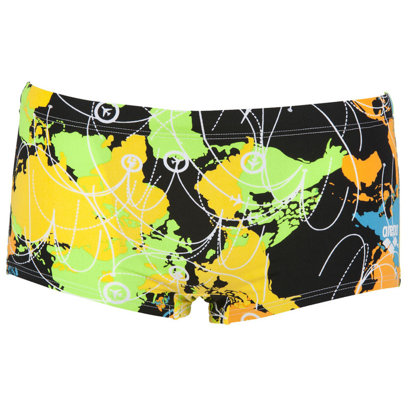 91c62be1a0 Arena Mens Routes LW Shorts (Black/Green) | Sportpursuit.com