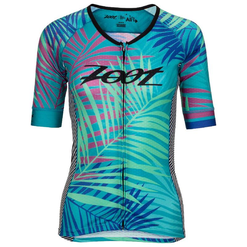 1169f7b55b6 Zoot Womens Tri Ali I Short Sleeve Jersey (Palm Print)