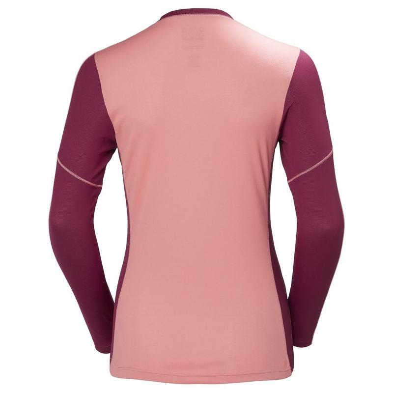 79e68c96d54d50 Helly Hansen Womens Lifa Active Light Top (Shell Pink) | Sportpursuit.