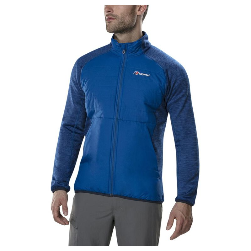 latest selection fair price cheaper Berghaus Mens Gemini Hybrid Insulated Jacket (Snorkel Blue ...