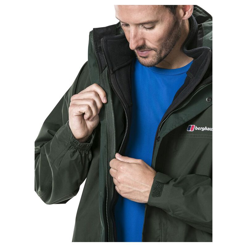 ac4a9af4f Berghaus Mens Long Cornice Interactive Shell Jacket (Deep Forest)   Sp