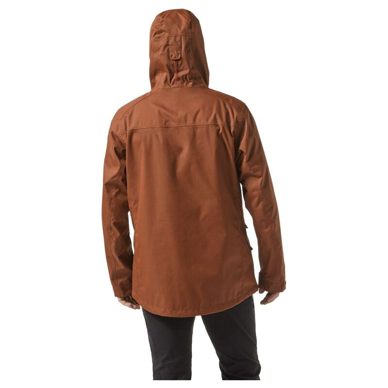 Craghoppers Mens Kiwi Classic Waterproof Jacket (Burnt Umber