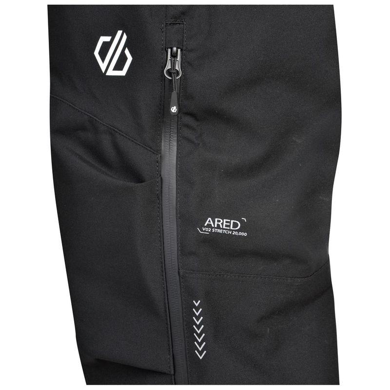Dare2b Men/'s Adriot AEP Waterproof Overtrousers Black
