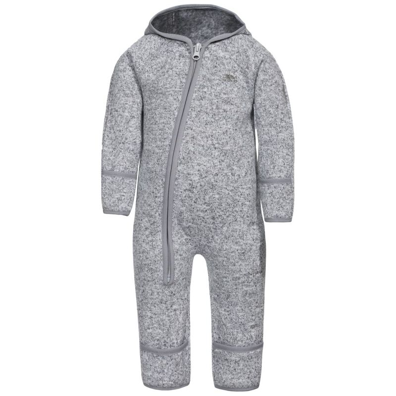 9a9d4e7c0 Trespass Babies Amberjack Fleece Suit (Grey Marl)