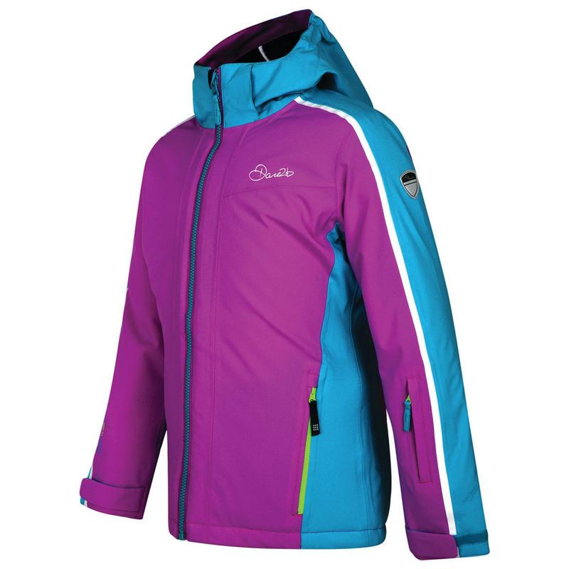 a0661480c Dare2B Kids Beguile Ski Jacket (Ultra Violet Aqua)