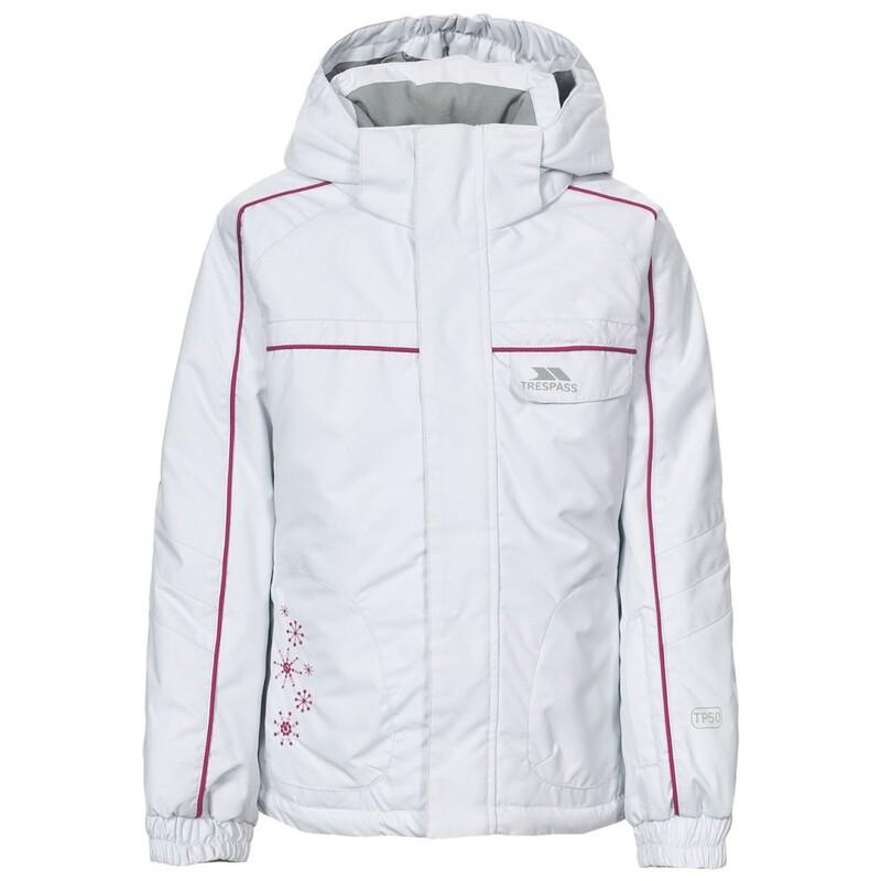 16bc24d02 Trespass Kids Jaya Ski Jacket (White)   Sportpursuit.com