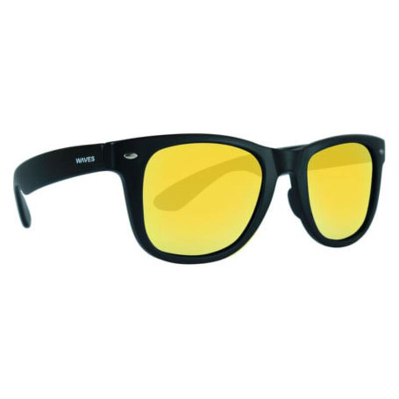 35a90335ed Waves Gear Floating Sunglasses Classic (Black Yellow)