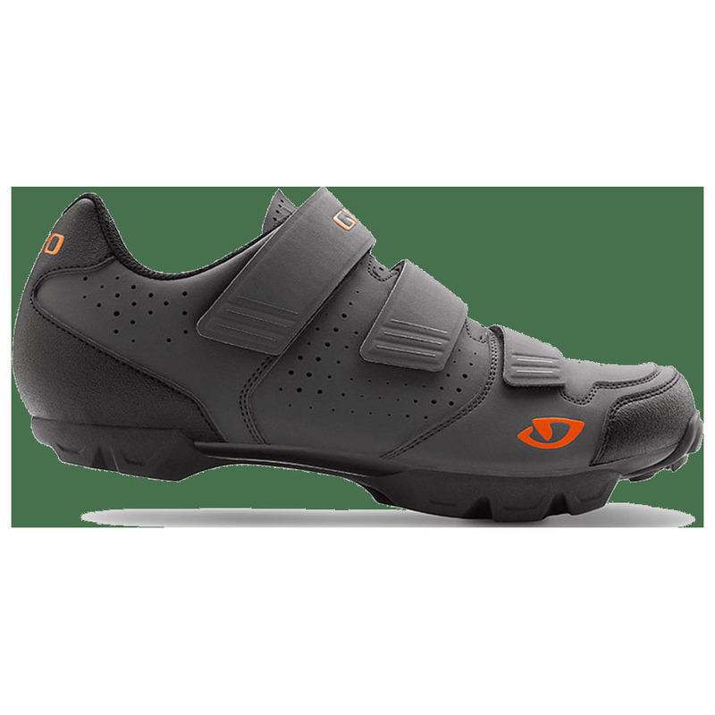 fe3a00f96c1 Giro Mens Carbide R MTB Shoes (Dark Shadow Flame Orange)
