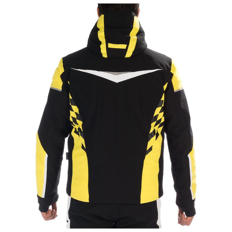 ddee4ade363c3 Hyra Mens St. Moritz Jacket (Black Blazing Yellow)