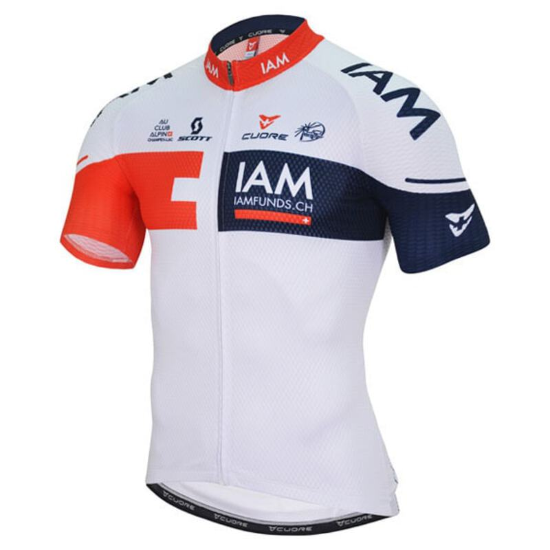 bae21956c Cuore Mens IAM Silver Jersey (White)