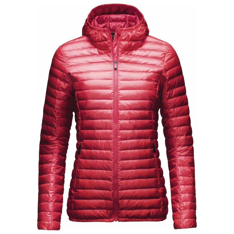 0ab90bc2568 Kjus Womens Cypress Hooded Down Jacket (Lipstick Purple Red ...