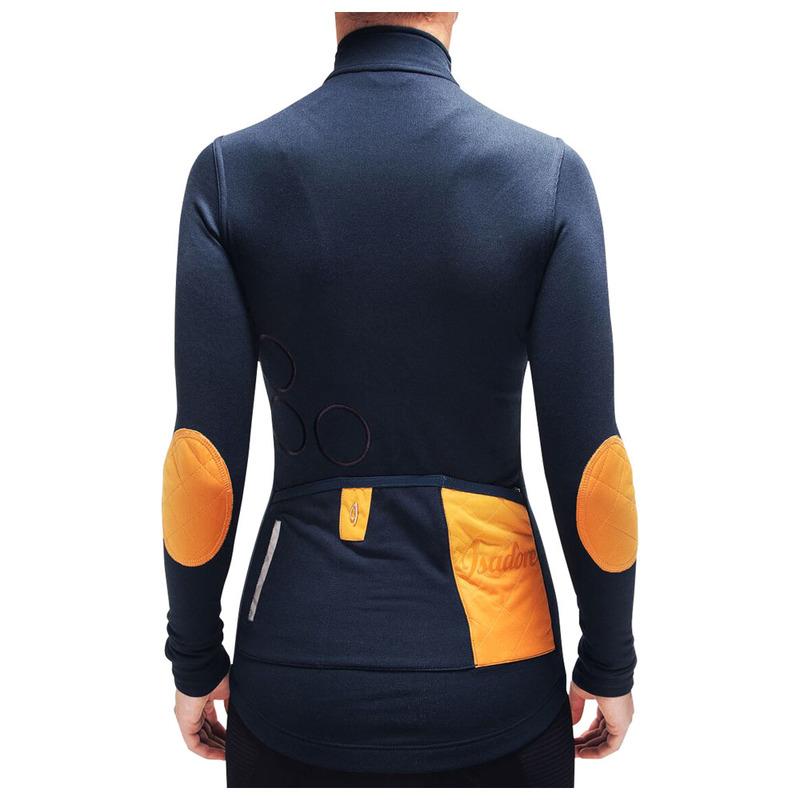 98b534116 Isadore Womens Shield Long Sleeve Jersey (Midnight Navy)