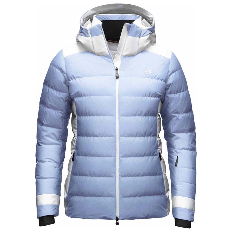 431cc49b1 Kjus Womens Snowscape Down Jacket (Peyto Blue Melange/White ...