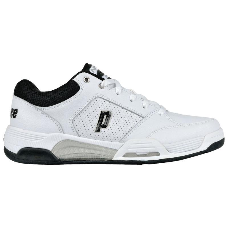 4279596c88837a Prince Tennis Mens NFS VIPER Tennis Shoes (White Black Silver ...