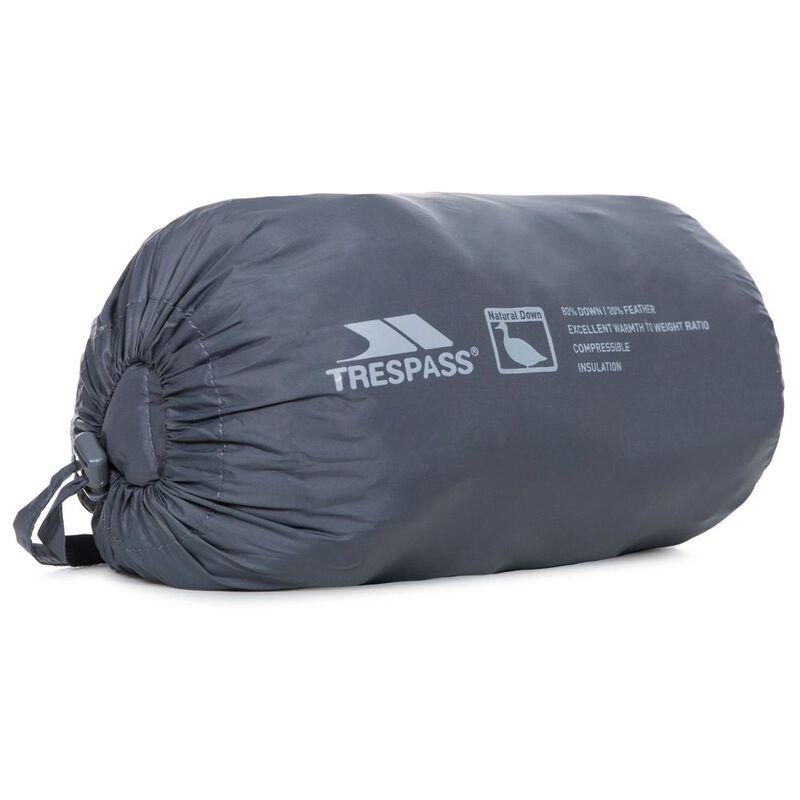 6b2f8178f Trespass Kids Morley Down Jacket (Carbon)
