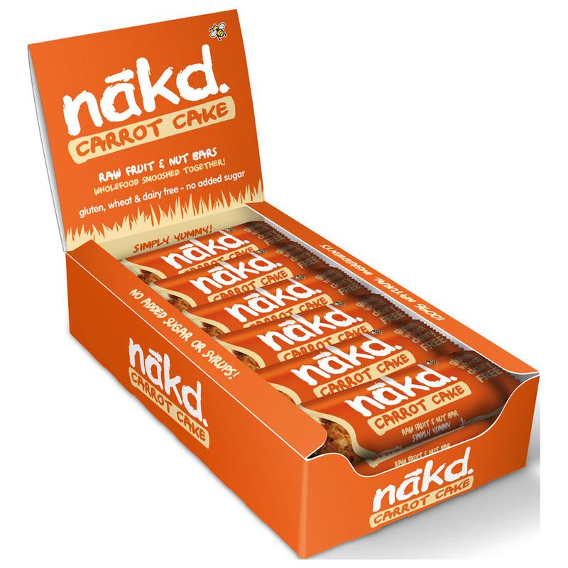 NAKD Energy Bars (18 x 35g - Carrot Cake)