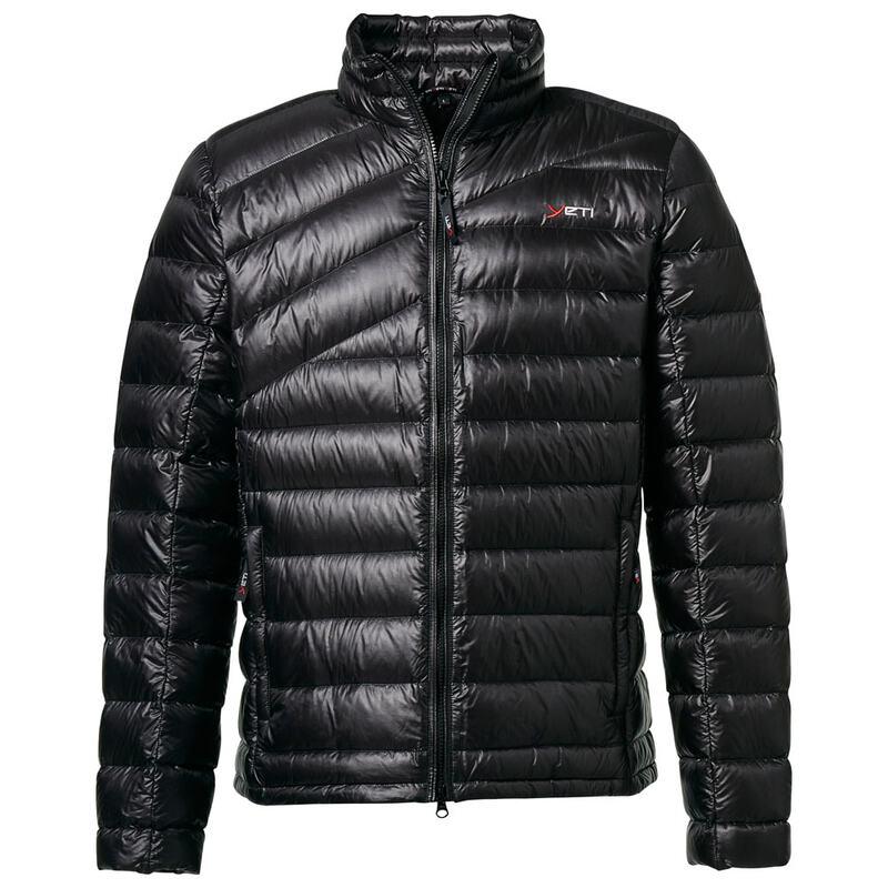 cdadd4a11 Yeti Mens Purity Lightweight Down Jacket (Black) | Sportpursuit.com