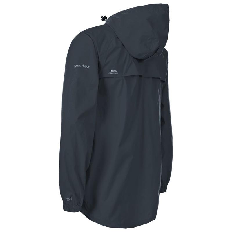 3a1fa87d2ec Trespass Qikpac Packaway Waterproof Jacket (Flint)