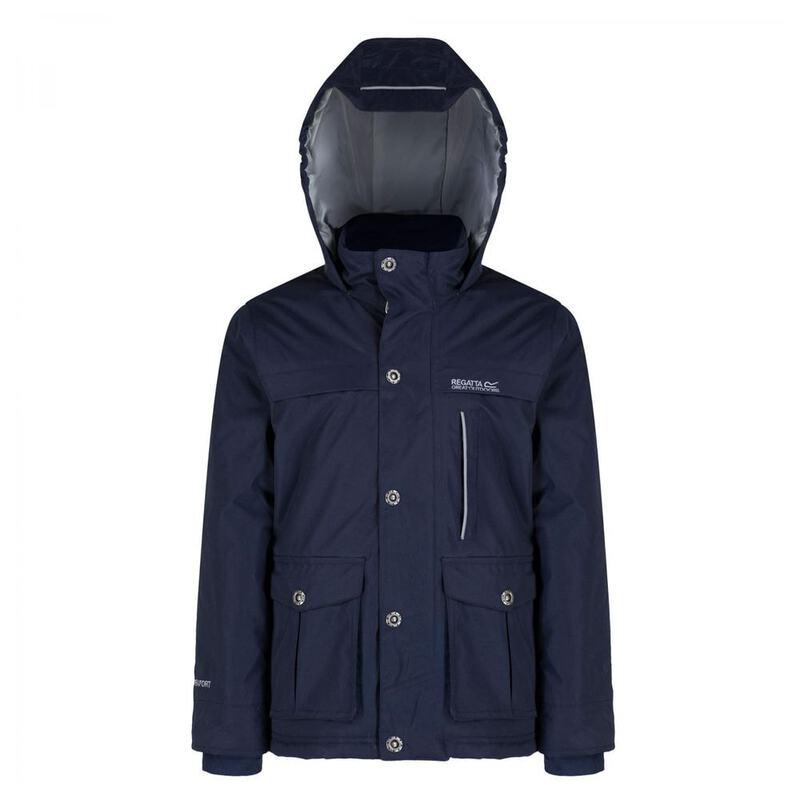 Regatta Sheriff Kids Water Repellent Hydrafort Fleece Thermo-Guard Lined Jacket