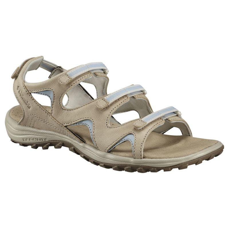 Columbia Women's Sandals, SANTIAM WRAP, (Ancient Fossil/Mirage)