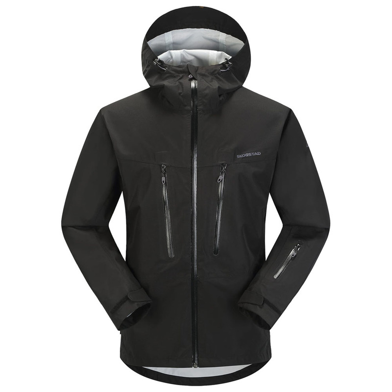 552cf519 Skogstad Mens Trollvasstind Waterproof Jacket (Black) | Sportpursuit.c