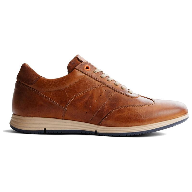 afff62c201b7e4 Travelin Mens Harwich Leather Shoes (Cognac)