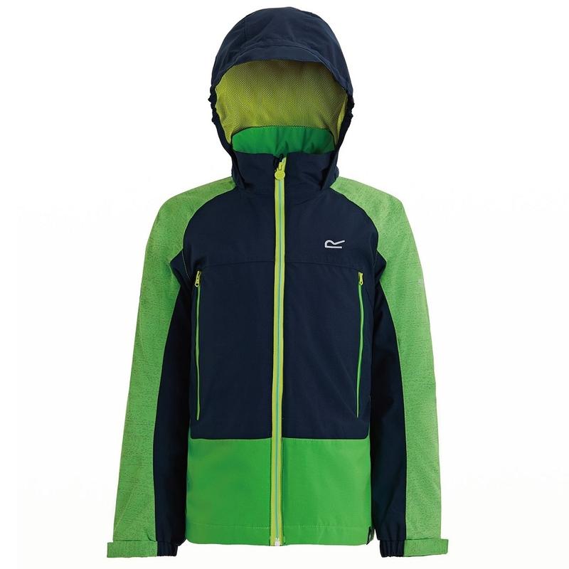 c3a8f7e8d1e8 Regatta Kids Hydrate III 3-in-1 Jacket (Fairway Green Navy)