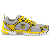 Mens Kwicky Blade-Light Shoes (Silver/Blazing Yellow/Black)