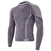 Mens Merino Long Sleeve Top (Grey)