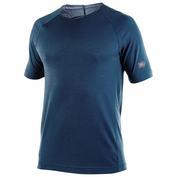 Mens Cougar 170g Merino Short Sleeve Top (Blue)