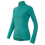 Womens Pursuit Long Sleeve Top (Viridian Green/Aqua Mint)