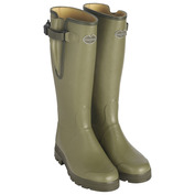 Womens Vierzon Leather Lined Boots (Green)