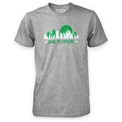 Mens Explore T-Shirt (Grey)