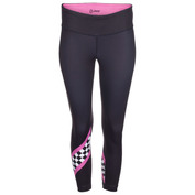 Womens Run Cali Capris (Paradise Checker)