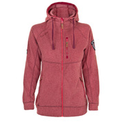 Womens Finse Fleece Jacket (Old Red)