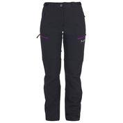 Womens Inca Light Softshell Trousers (Black/Purple)