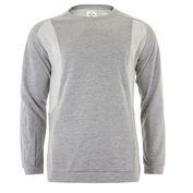 Mens Skj\u00e6ret College Pullover (Light Grey Melange)