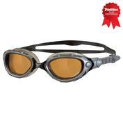 Predator Flex Polarized Ultra Goggles (Silver/Black)